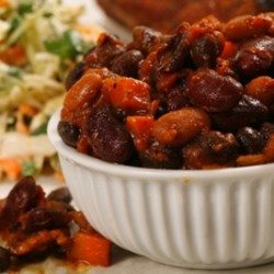 Baked Beans with Veggies