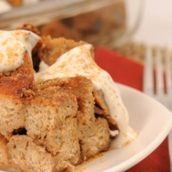 Chai Coconut Bread Pudding