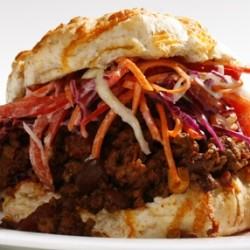 Chili Sloppy Joe's with Homemade Coleslaw