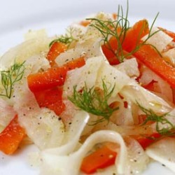 Fennel & Red Pepper Salad