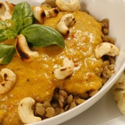 Mango Curry with Lentils