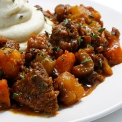 Moroccan Lamb and Lentil Stew