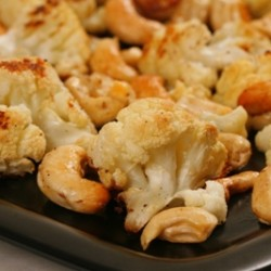 Roasted Cauliflower and Cashew