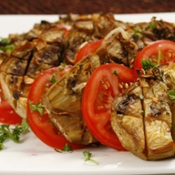 Roasted Rosemary Eggplant