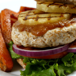 Pineapple Chicken Burger
