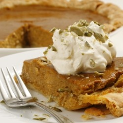 Rich Pumpkin Pie