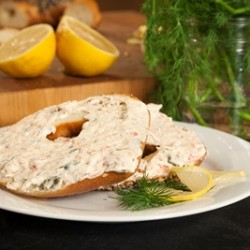 Smoked Salmon Dill Cream Cheese