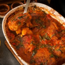 Easy Chicken and Squash Cacciatore