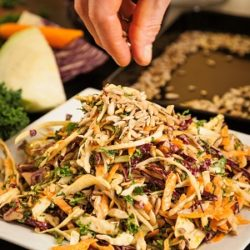 Winter Slaw with Creamy Chipotle Dressing